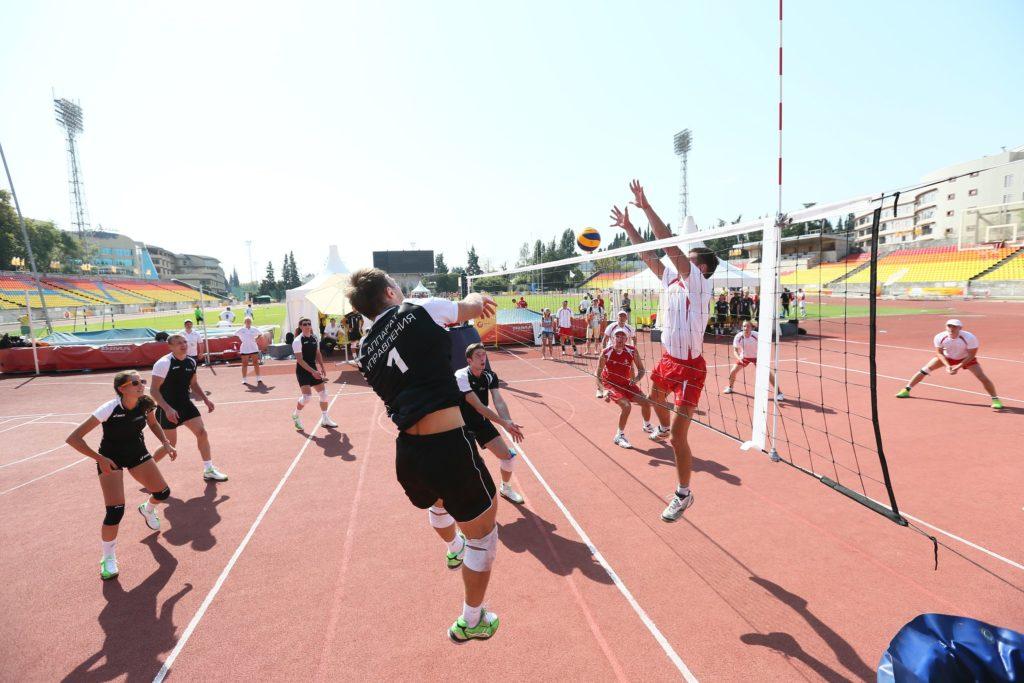 Волейбол для корпоративных команд