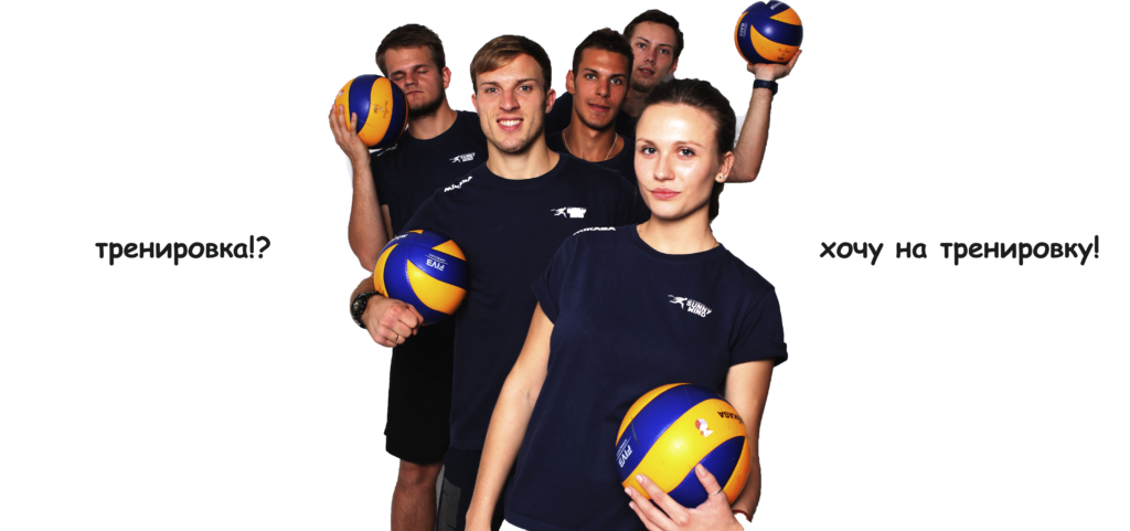 Наши тренеры по волейболу