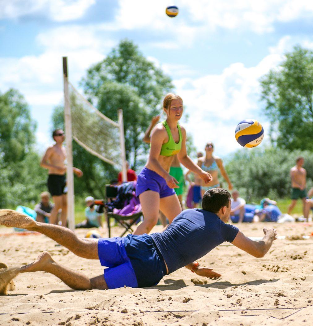 Любительский волейбол